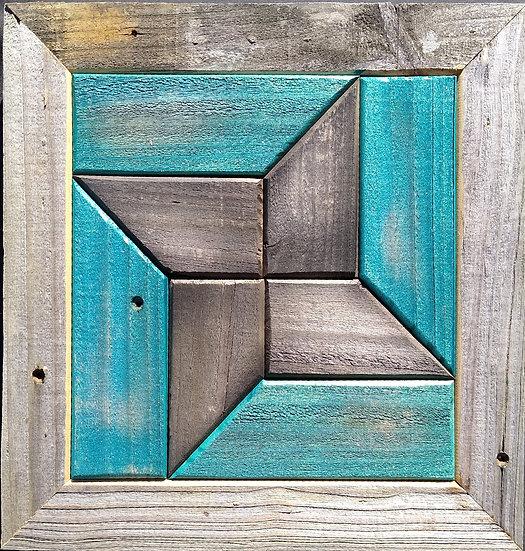 Quilt Block Wall Hanging - Mini Pin