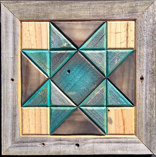 Quilt Block Wall Hanging - Ohio Star