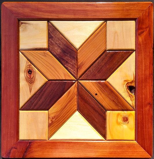 (108) Quilt Block Wall Hanging - Lemoyne