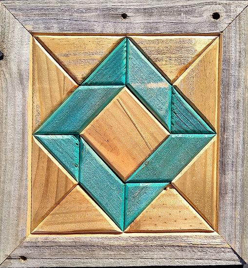 Quilt Block Wall Hanging - God's Eye