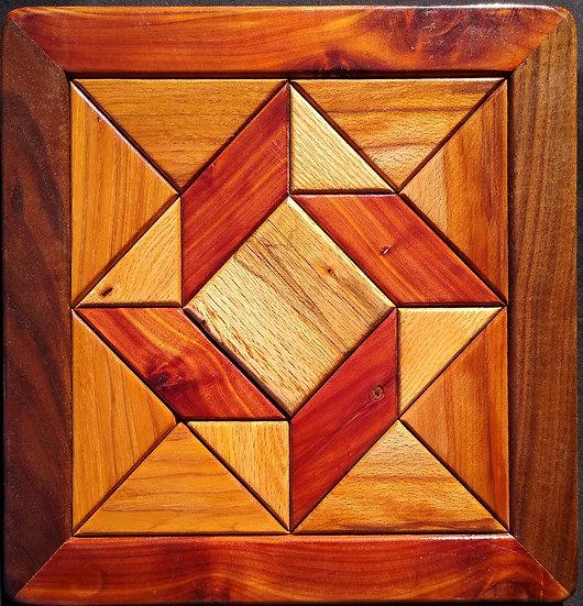 (226) Quilt Block Wall Hanging - God's Eye