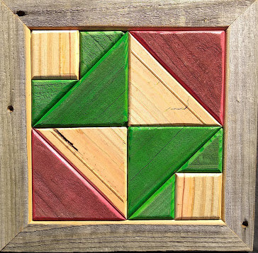 Quilt Block Wall Hanging - Nouveau