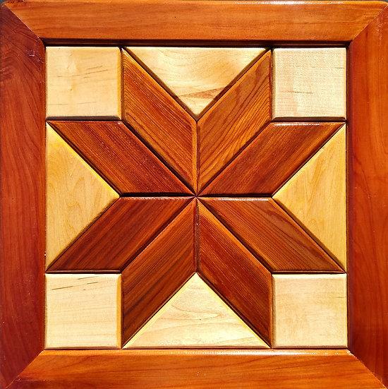(110) Quilt Block Wall Hanging - Lemoyne