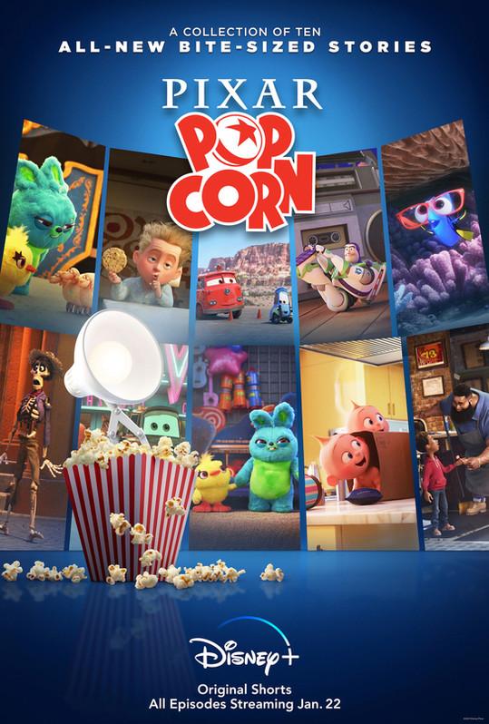 Pixar Popcorn (Car shorts)
