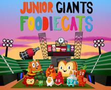 Junior Giants Foodie Cats