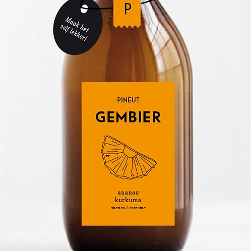 Pineut- Gembier- ananas kurkuma