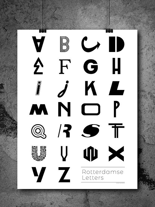 Poster Rotterdamse Letters