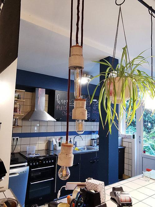 Triple hanglamp
