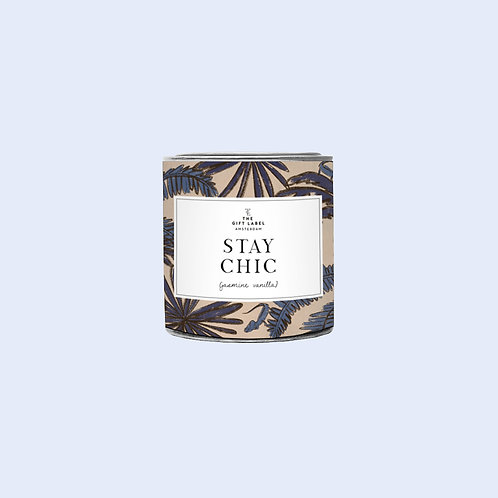 Small candle tin - Stay Chic