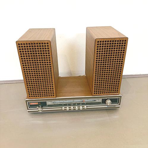 Radio met boxen