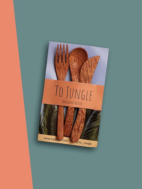 Jungle Kokosnoot Bestek