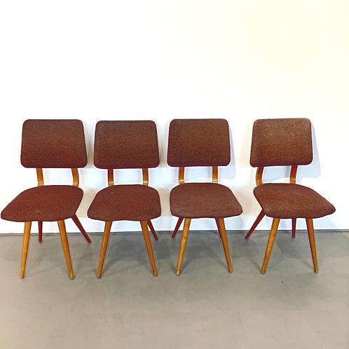 Eetkamer stoelen Verkocht