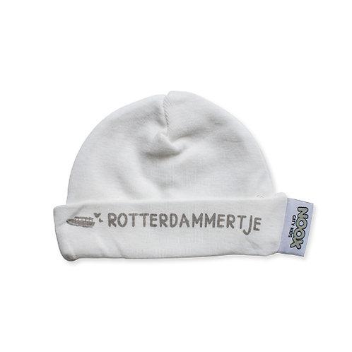 Babymutsje Rotterdam 100% katoen en fairly made