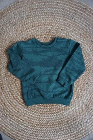 Sweater met stippen print