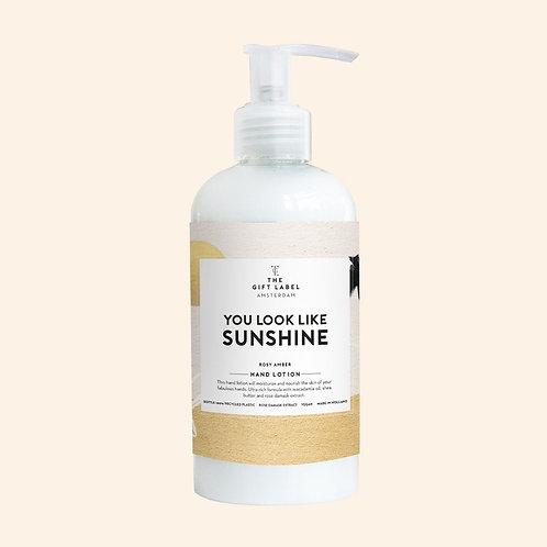 Hand lotion 250 ml - You look like sunshine - High summer
