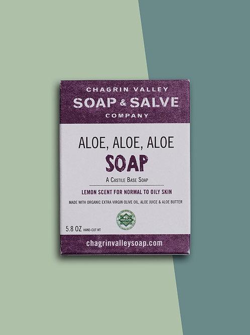 ALOE ALOE ALOE Soap Bar