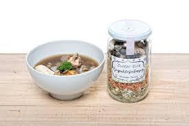 Bospadenstoelen soep