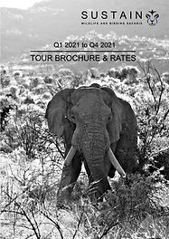 Sustain Safaris Brochure 2021 Front Cove