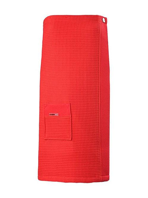 SAUNA KILT, LENGTE 75CM Red