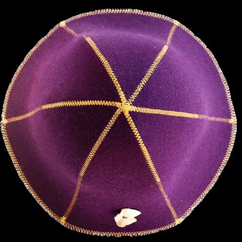 Saunahoedje Purple