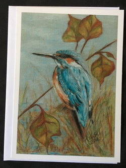 Kingfisher in the Fall