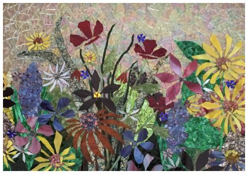 Floral Garden Mosaic