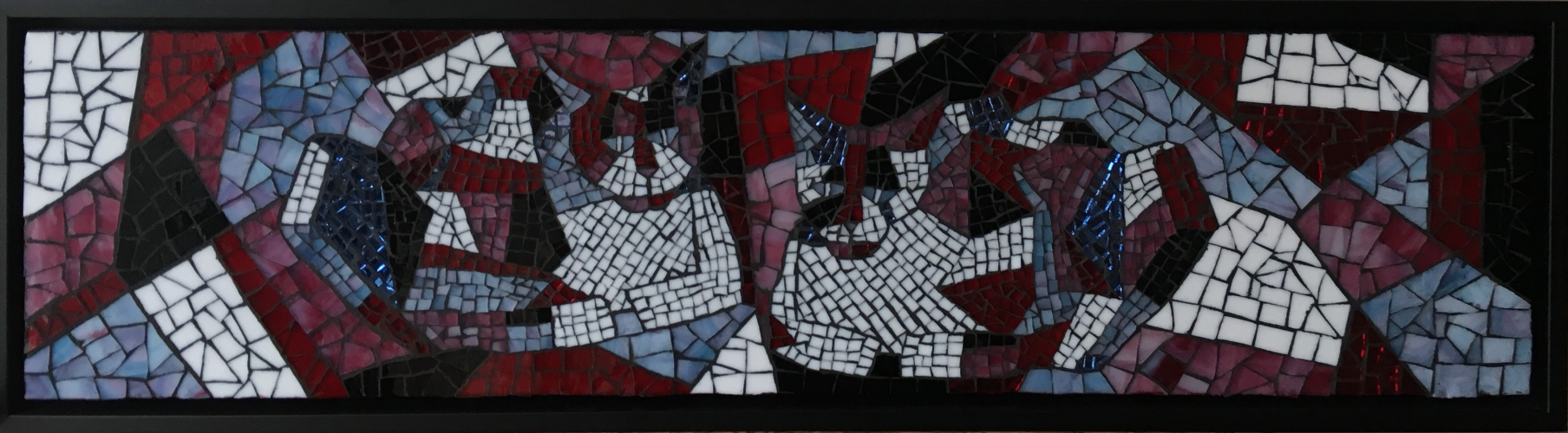 Cubist Cats - Framed