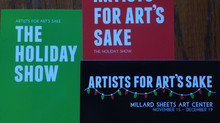 Artists for Art's Sake Exhibition: November 15 - December 19, 2014.