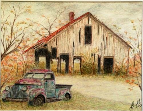 Rusty Truck & Barn