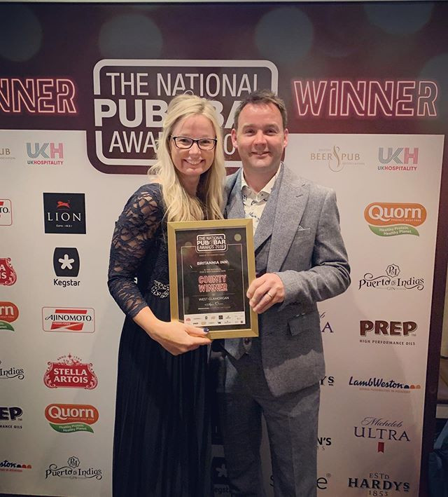 We are so happy winning best Pub in West