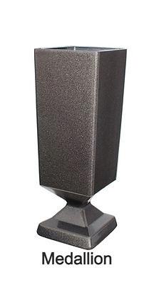 Memorial Upright Vases Medallio