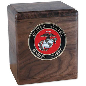 Freedom Wood Military Urn
