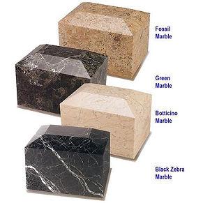 Box Marble Urns