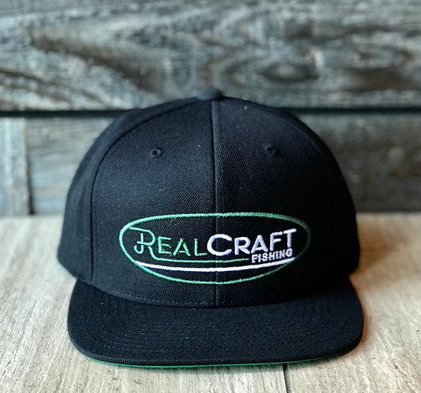 RealCraft Fishing Logo Snapback