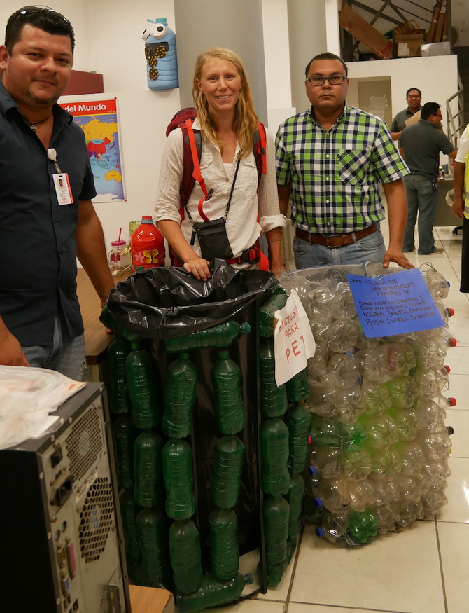 Visiting Mexican garbage authority