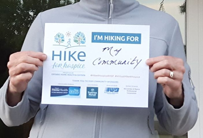 Who do you hike for?