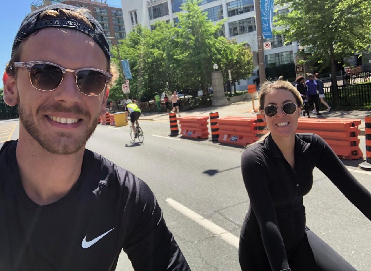 Team Erma's Neighbours hikes... on wheels!
