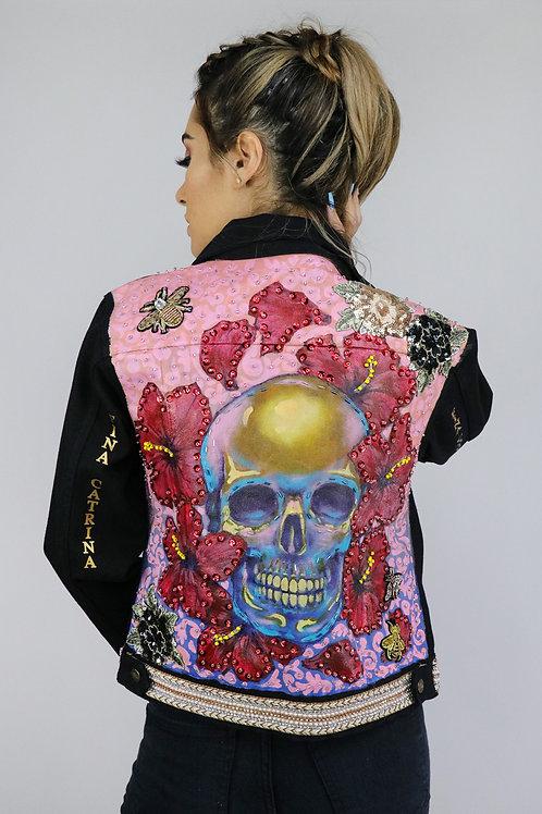 Skull in pink