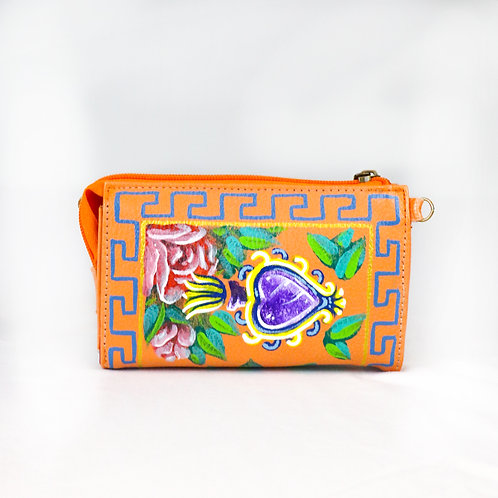Small Wallet Rose