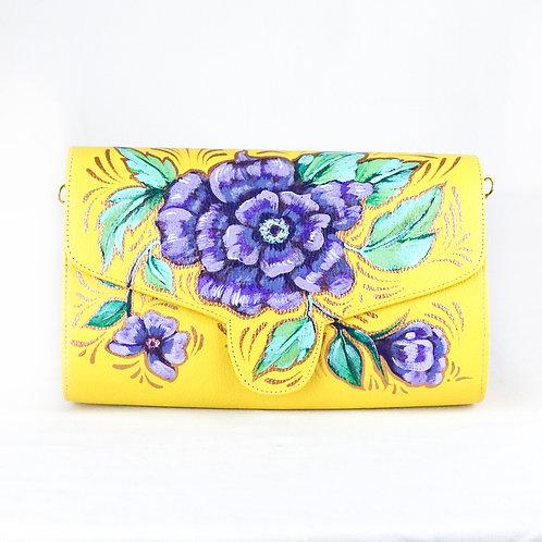 Purple Flower Cilindro