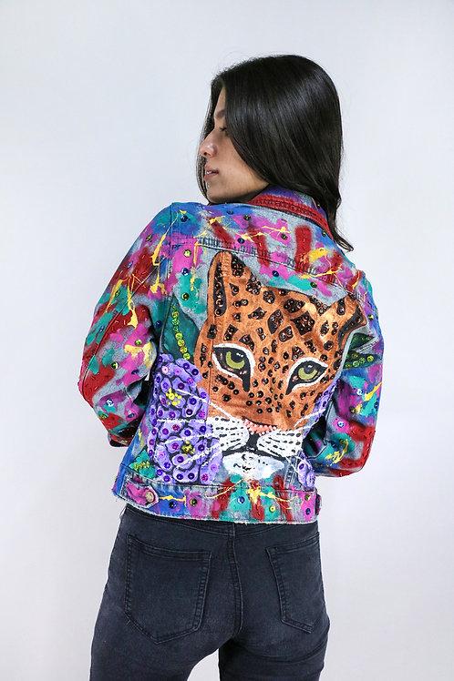 Jaguar graffiti