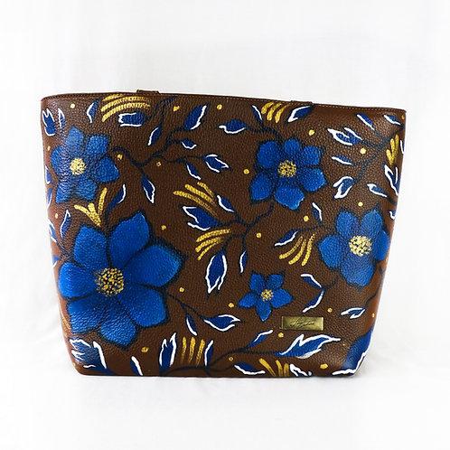 Manhattan flores azules