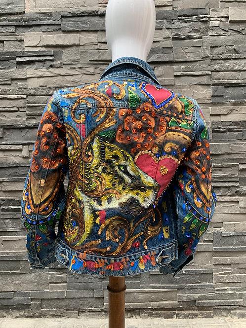 Jaguar corazón