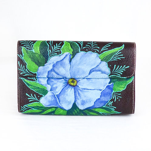 Cilindro flor azul