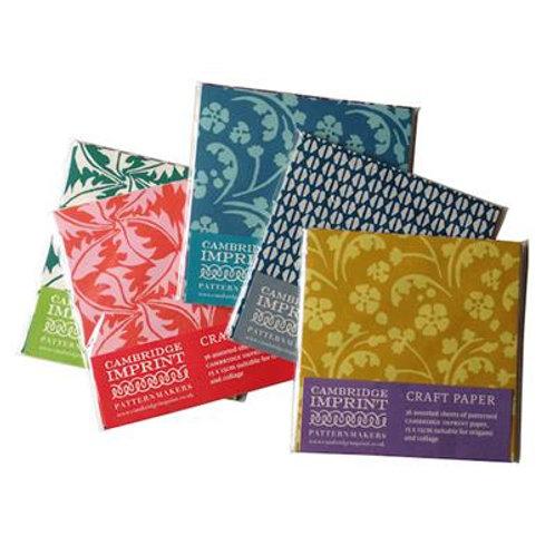 Cambridge Imprint Assorted Craft Paper Pack