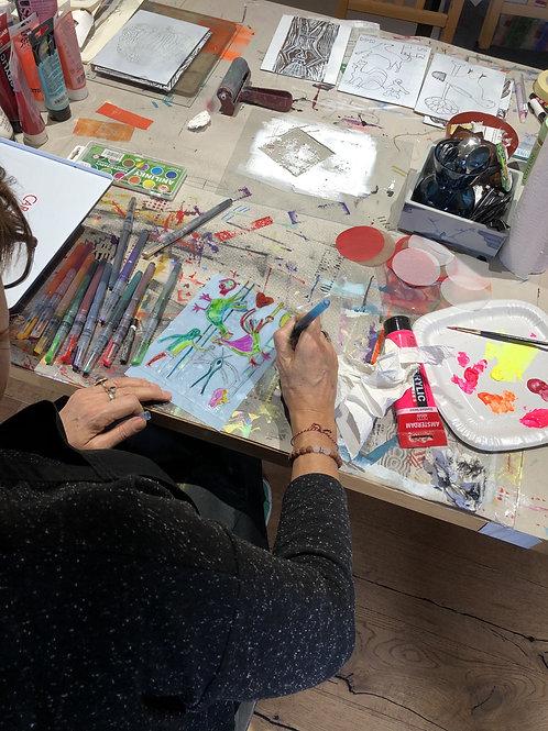 3-HOUR ART CLASS