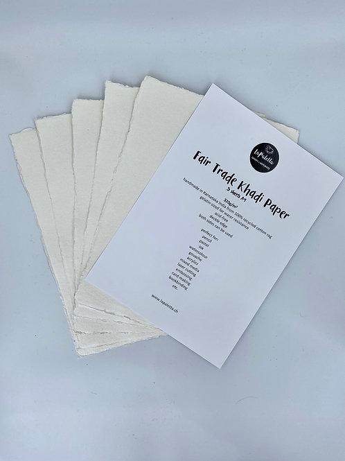 Fair Trade Khadi Paper