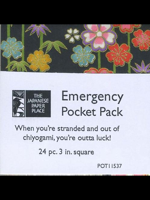 Chiyogami Emergency Pocket Pack
