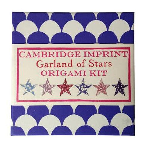 Cambridge Imprint Garland of Stars Origami Kit