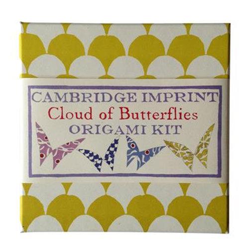 Cambridge Imprint Cloud of Butterflies Origami Kit